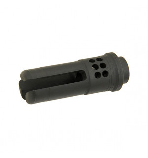 DUMMY FLASH HIDER FOR M4 16 RIFLES AND VARIANTS [CASTELLAN]